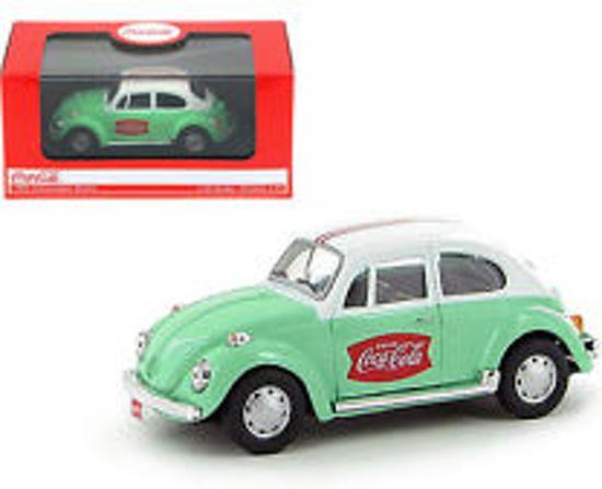 Volkwagen Beetle 1966 Coca Cola Groen/Wit 1/43 Motorcity