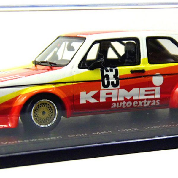 Volkswagen Golf MK1 Grp.2 1.000km Nürburgring 1977 #63 1:43 Spark