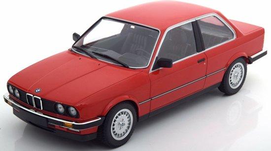 BMW E30 323i 1982 Rood 1:18 Minichamps Limited 702 pcs.