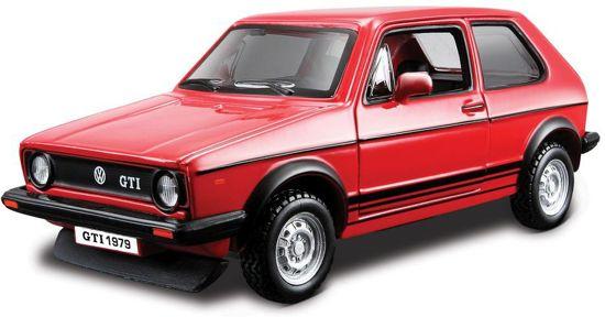 Volkswagen Golf MK1 GTI Zwart 1:32 Burago