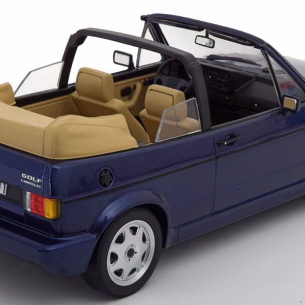 Volkswagen Golf 1 Cabriolet 1992 Blauw 1-18 Norev Limited 1000 Pieces