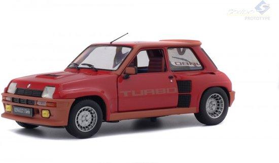 Renault 5 Turbo - 1-18 Rood Solido