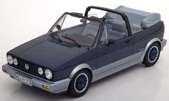 "Volkswagen Golf Cabriolet ""Bel Air"" 1992 Blauw metallic 1:18 Norev"