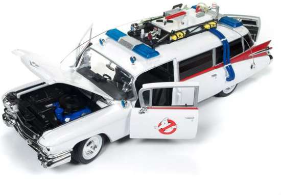 Cadillac Ambulance 1959 (Ghostbusters ECTO-1) 1:18 Ertl Autoworld