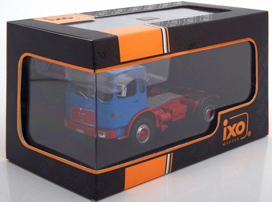 M.A.N.16.320 Blauw/Rood 1:43 Ixo models