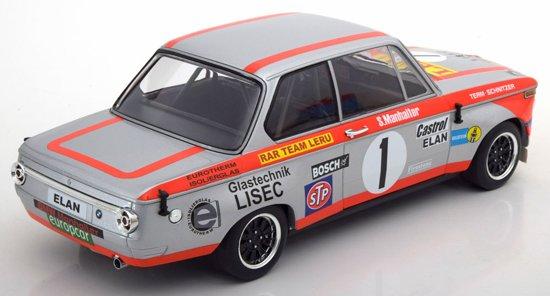 BMW 2002 ti No.1 Sieger 1000km Österreichring 1974 Manhalter 1-18 Minichamps Limited 500 pcs.