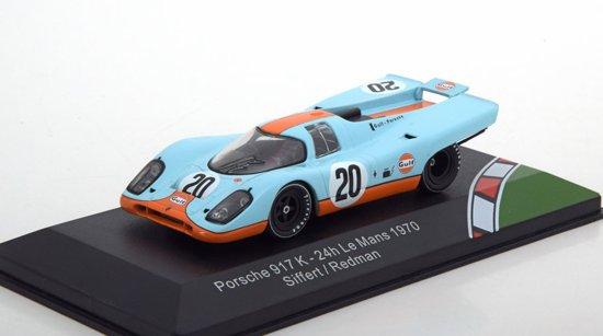 "Porsche 917 K No.20, 24h Le Mans 1970 ""Gulf "" Siffert/Redman 1-43 CMR Classic Models"