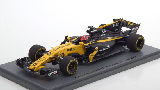 Renault RS17 Test GP Hungary 2017 R.Kubica 1-43 Spark ( Resin )