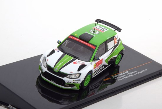 Skoda Fabia R5 Sieger Rally de Portugal 2017 Tidemand/Andersson 1-43 Ixo Models