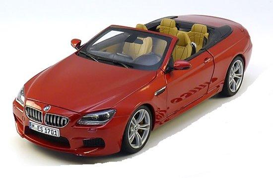 BMW M6 F12 Cabrio 2012 Oranje Metallic 1-18 Paragon