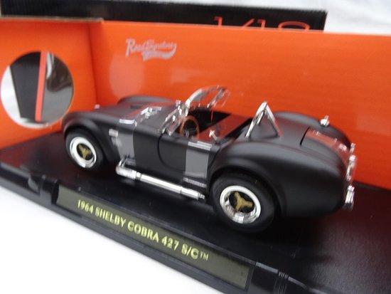 Shelby Cobra 427 S/C 1964 Matzwart 1:18 Lucky Diecast