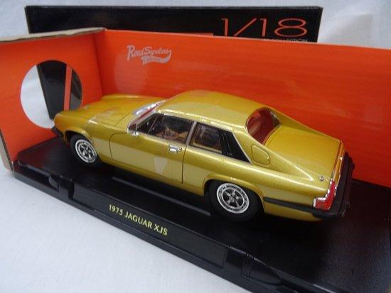 Jaguar XJ-S Coupe 1975 Goud 1-18 Lucky Diecast