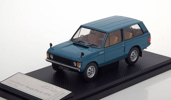 Range Rover 1970 Blauw 1-43 Almost Real
