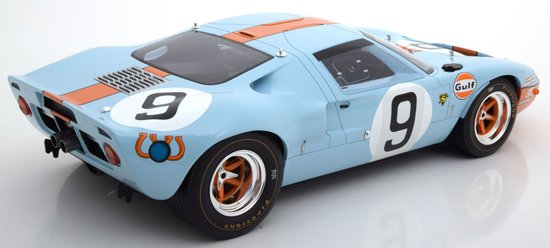 "Ford GT40 Sieger 24h Le Mans 1968 ""Gulf ""Rodriguez/Bianchi 1-12 CMR Classic Models"