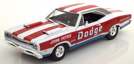"Dodge Coronet Super Bee 1969 ""Petrie"" 1:18 Ertl Autoworld Limited 1002 pcs."