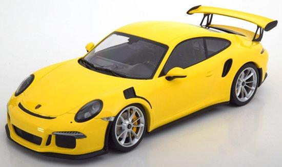 Porsche 911 (991) GT3 RS 2015 Geel 1-18 Minichamps Limited 222 Pieces