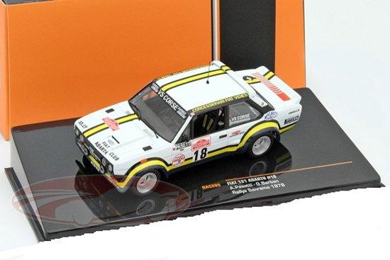 Fiat 131 Abarth #18 Rallye San Remo 1978 Pasetti, Barban 1:43 Ixo Models