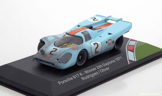 "Porsche 917 K #2 Sieger 24h Daytona 1971 ""Gulf "" Rodriguez/Oliver 1-43 CMR Models"