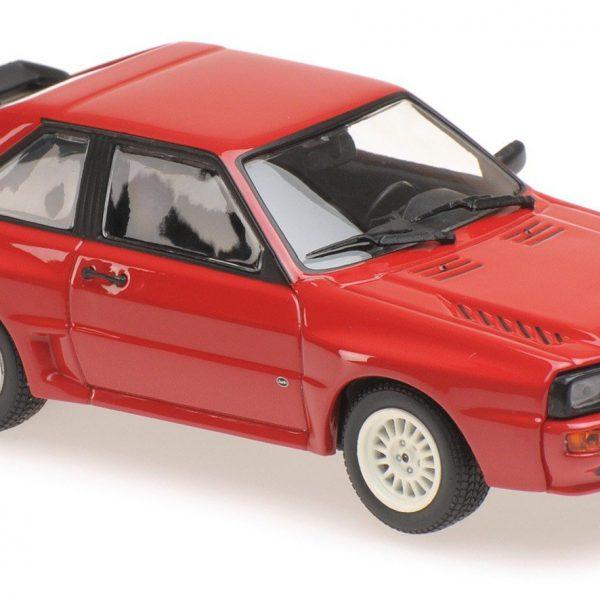 Audi Sport Quattro 1984 Rood 1-43 Maxichamps