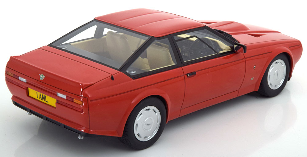 Aston Martin V8 Zagato 1986 Rood 1-18 Cult Scale Models Limited
