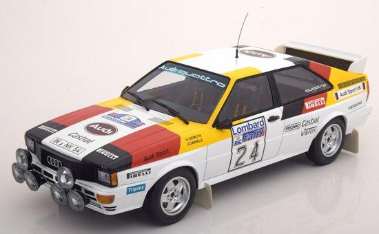 Audi Quattro No.24 Lombard RAC Rally 1982