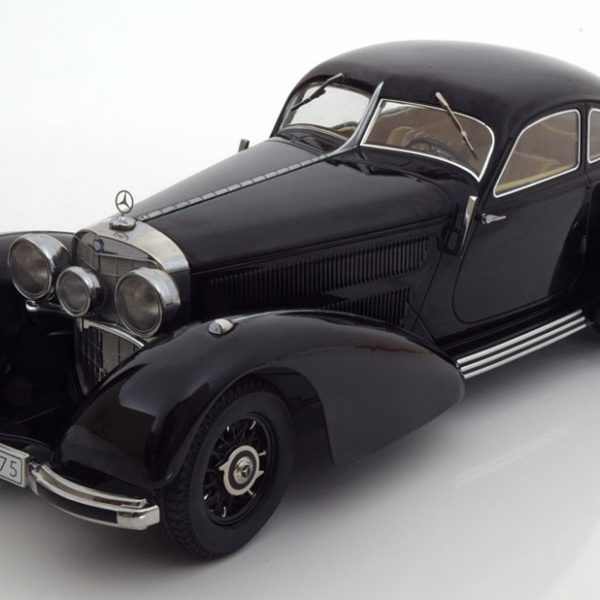 Mercedes 540K Autobahnkurier 1938 Zwart 1-18 KK-Scale Limited Edition 3000 Pieces