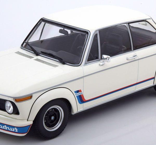 BMW 2002 Turbo 1973 Wit 1-18 Minichamps