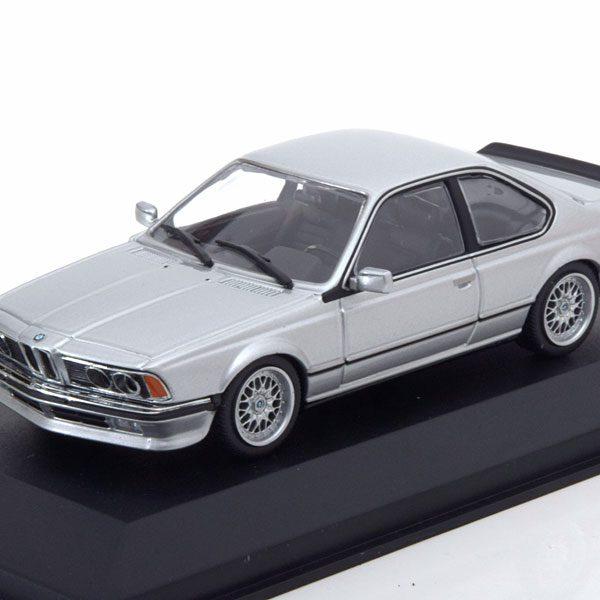 BMW 635 CSI 1982 Zilver 1-43 Maxichamps