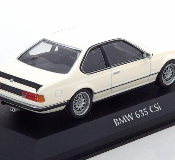 BMW 635 CSI 1982 Wit 1-43 Maxichamps