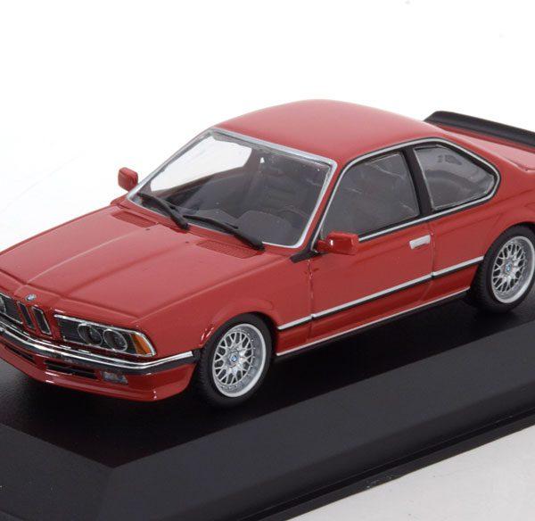 BMW 635 CSI 1982 Rood 1-43 Maxichamps