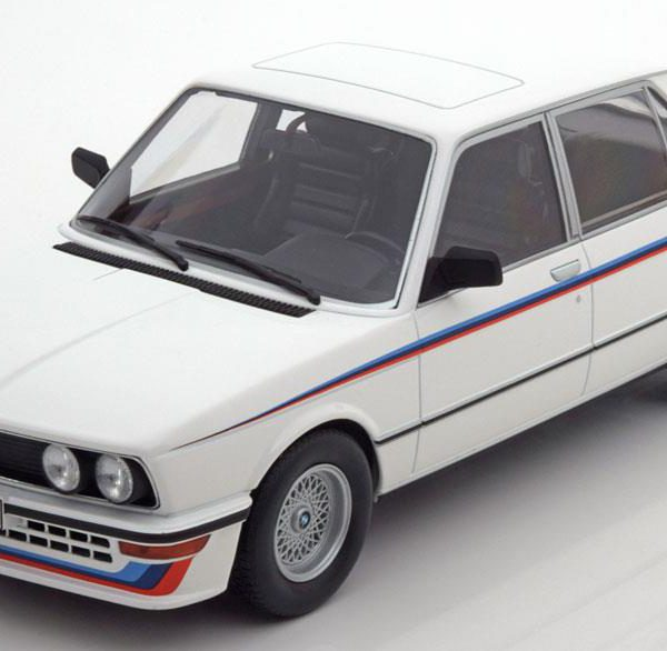 BMW E12 M 535i 1980 Wit Norev 1-18 Limited 1000 Pieces