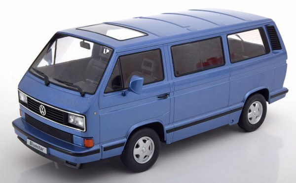 Volkswagen Bus T3 Bluestar 1993 Blauw Metallic 1-18 KK-Scale Limited 500 Pieces