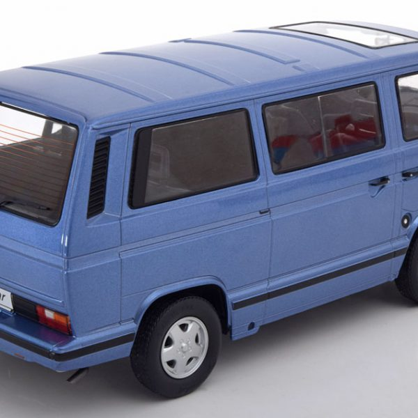 Volkswagen Bus T3 Bluestar 1993 Blauw Metallic 1-18 KK-Scale Limited 500 Pieces