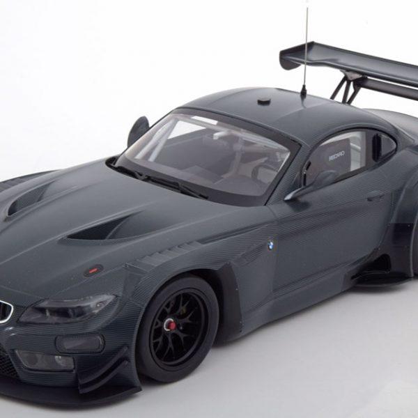 BMW Z4 GTS 2015 Carbon Decoration Donkergrijs 1-18 Minichamps Limited 300 Pieces