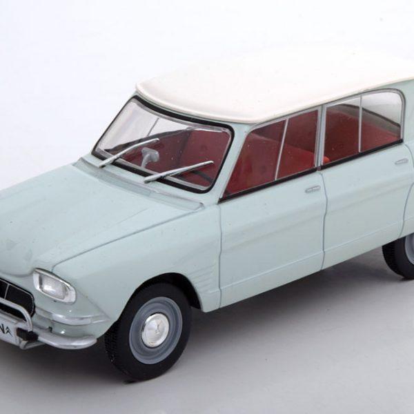 Citroen Ami 6 1961 Helgroen / Wit 1-24 Whitebox