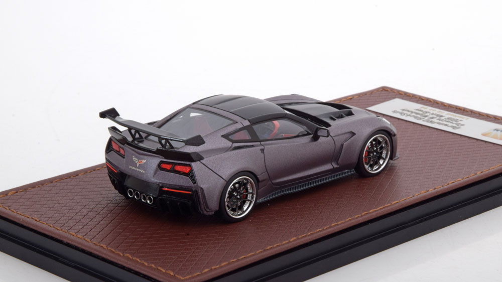 Chevrolet Corvette C7 Widebody DarwinPro BlackSails 2016 Mat Grijs 1-43 GLM Models Lim.99 Pcs