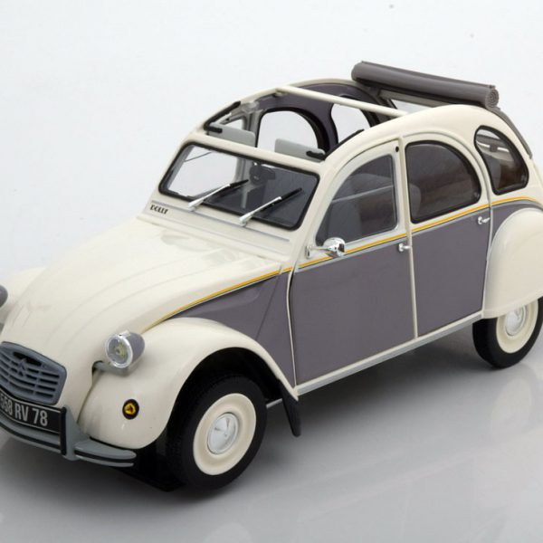 Citroen 2CV Dolly 1985 1:18 Wit/Grijs Norev