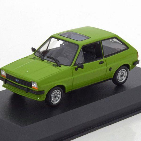 Ford Fiesta MK1 1976 Groen 1-43 Maxichamps