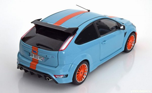 "Ford Focus RS Le Mans Classic Edition Tribute 2010 ""Gulf"" 1-18 Minichamps Limited 702 Pieces"
