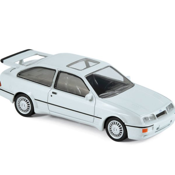 Ford Sierra RS Cosworth 1986 Wit 1-43 Norev Jet Car