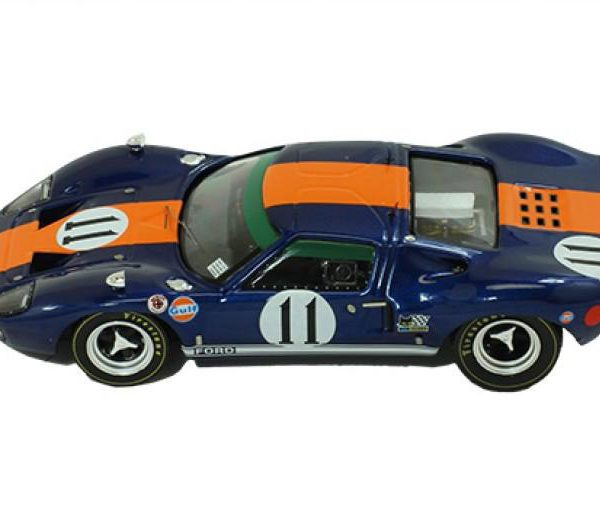 Ford GT40 #11 Winner 24h Daytona 1967 Ickx / Thompson 1:43 Ixo Models