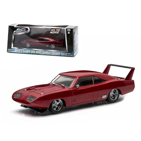 "Dodge Charger Daytona 1969 ""Fast & Furious"" Dom's Custom 1-43 Greenlight Collectibles"