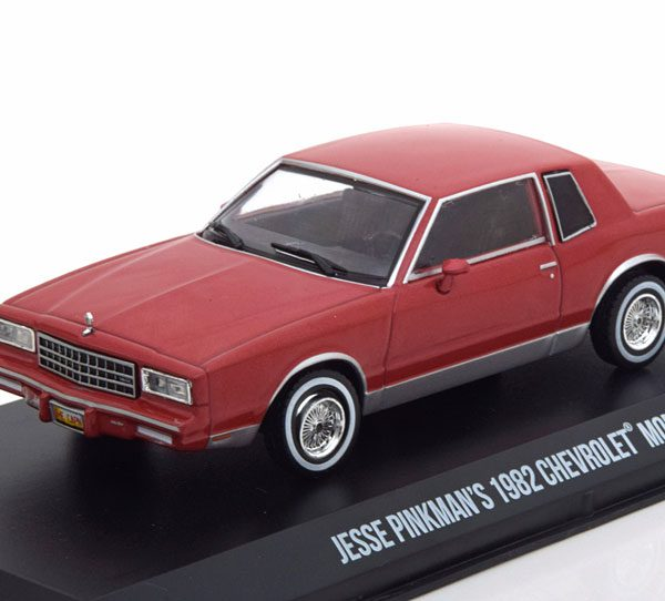"Chevrolet Monte Carlo 1982 Jesse Pinkman, ""Breaking Bad""Rood 1-43 Greenlight Collectibles"