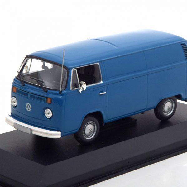 Volkswagen T2B Bus Delivery Van 1972 Blauw 1-43 Maxichamps