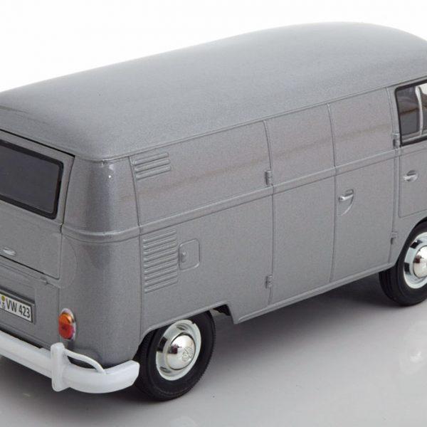 Volkswagen T1 Type 2 Delivery Van Grijs Metallic 1-24 Motormax