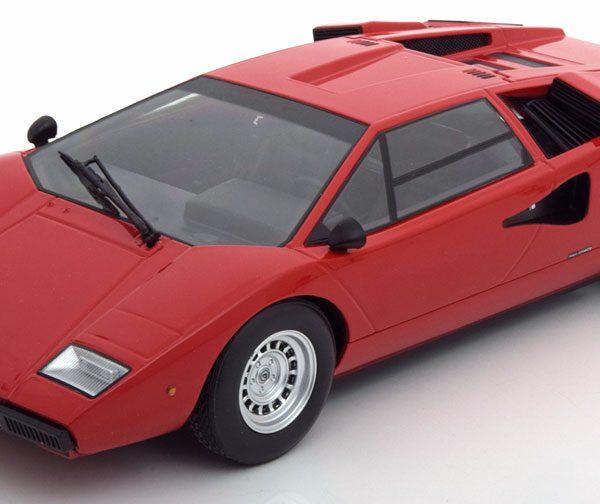 Lamborghini Countach LP 400 Rood 1/18 Kyosho