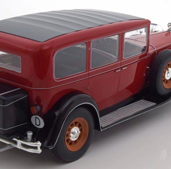 Mercedes-Benz 460/460 K Nürburg 1928-1933 Rood MCG Models 1/18