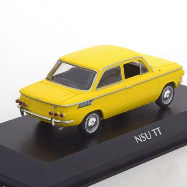 NSU TT 1967 Geel 1-43 Maxichamps