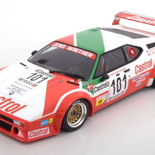 BMW M1 E26 No.101, 24h Le Mans 1984 Winther/Mercer/Jensen 1-18 Minichamps Lim.354 Pcs