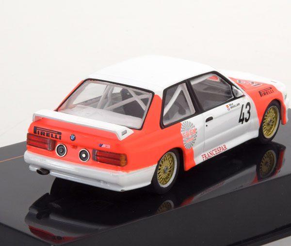 BMW M3 E30 No.43, WTCC 1987 Sala/Grouillard ( Marlboro Decals ) 1-43 Ixo Models